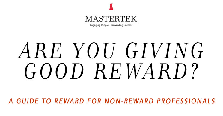 Are you giving good reward?